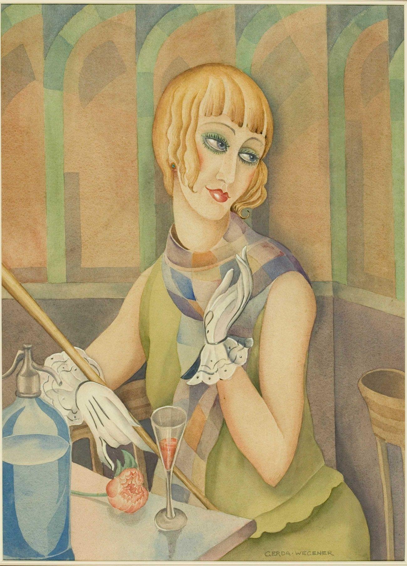 Retrato De Lili Elbe Gerda Wegener Pinturas Para Niñas La Chica Danesa Producción Artística