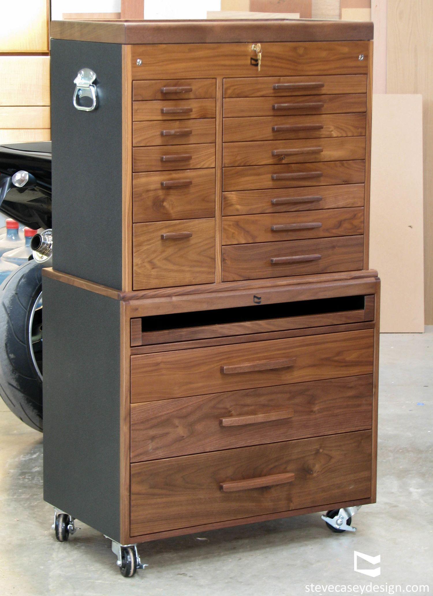 Custom Walnut Toolbox | Woodshop | Pinterest | Toolbox, Woodworking ...