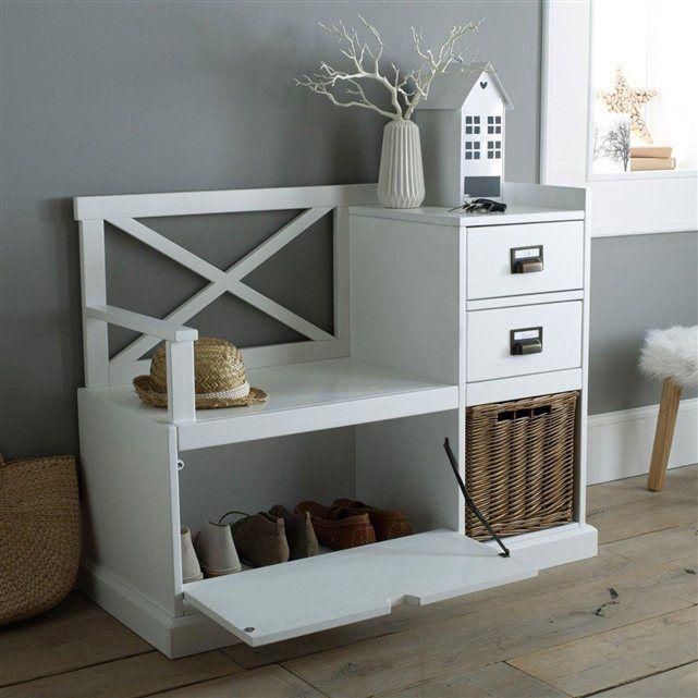 banc d 39 entr e lindley la redoute interieurs la redoute projet maison pinterest muebles. Black Bedroom Furniture Sets. Home Design Ideas
