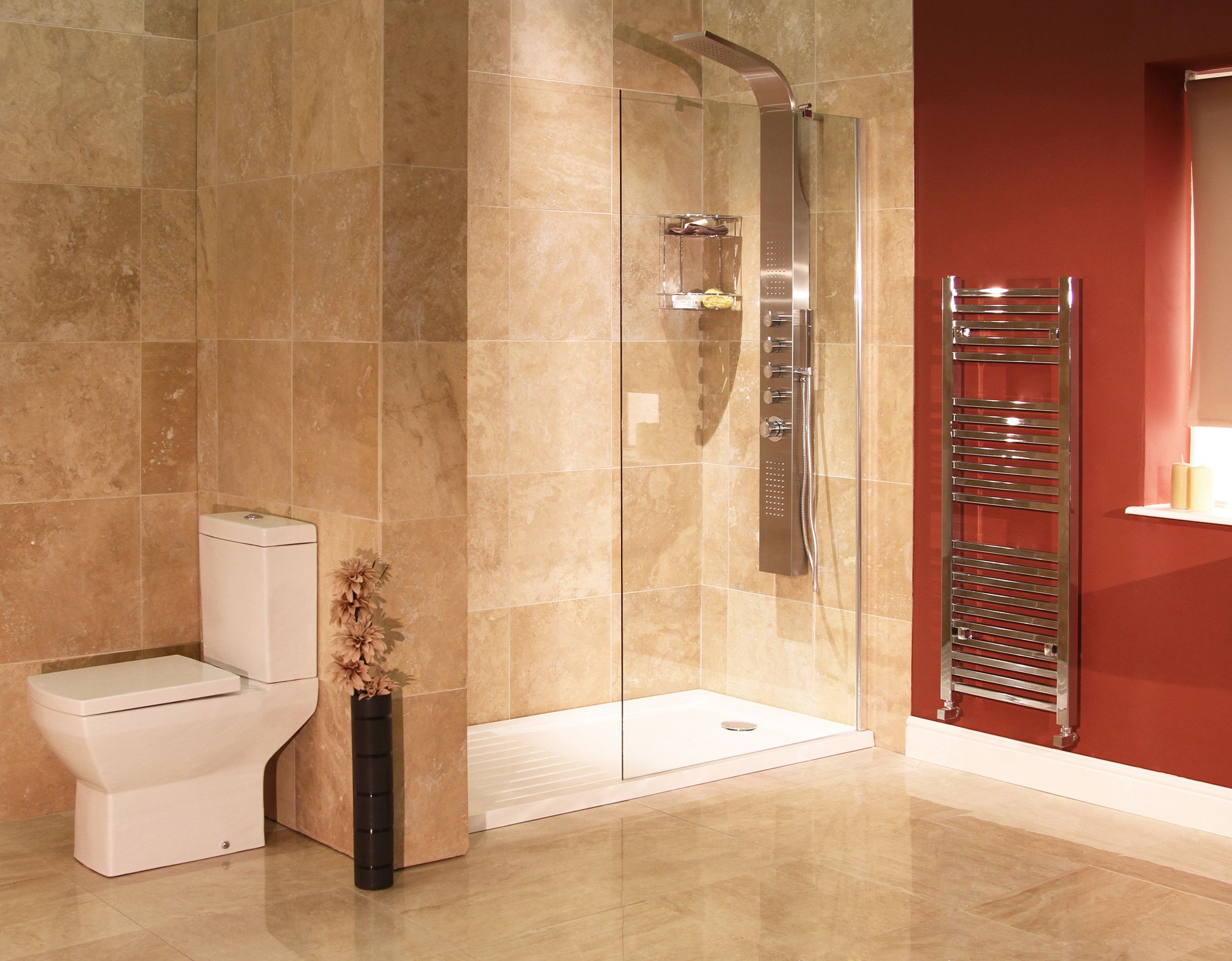 A stunning 'Walk In Wet Room' design courtesy of
