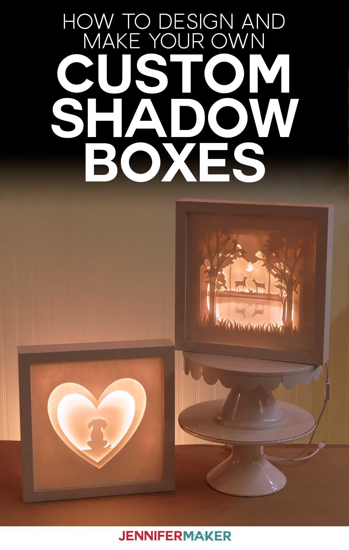 Custom Shadow Box Make Your Own in Cricut Design Space