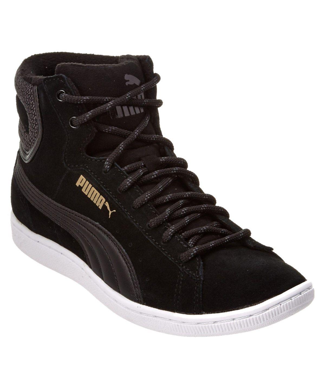 best loved cbdb9 e087d PUMA Puma Women S Vikky Mid Twill Soft Foam Sneaker .  puma  shoes  sneakers