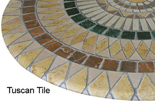 Outdoor Tables Mosaic Table Cloth Round 36 To 48 Elastic Edge