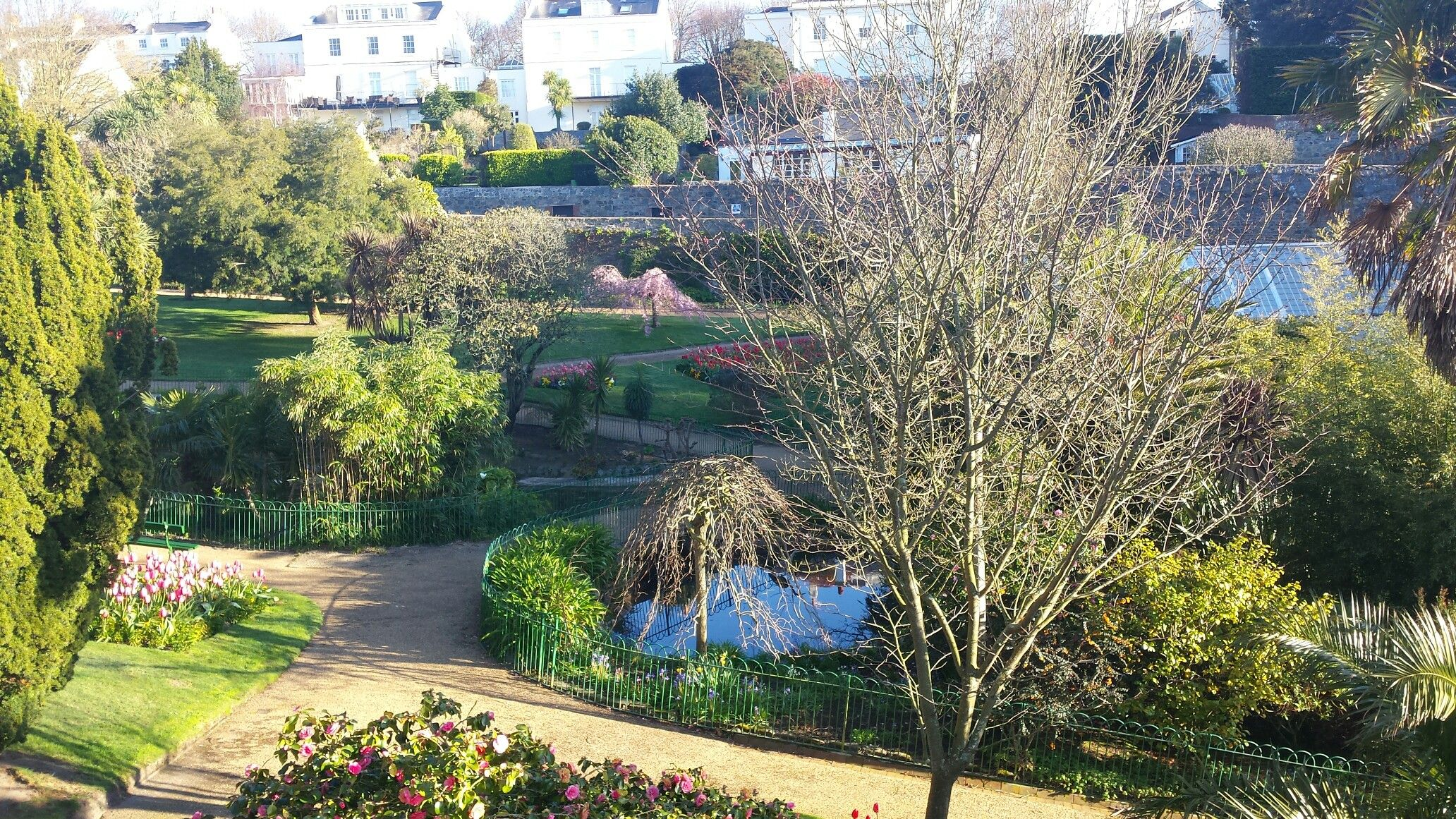 Candie Gardens Guernsey, a beautiful place