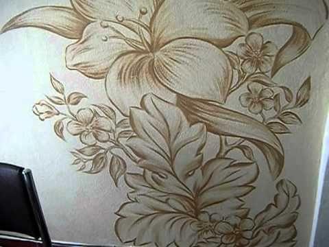 Pinturas decorativas em paredes pesquisa google pintura decorativa em paredes pinterest - Pinturas decorativas paredes ...