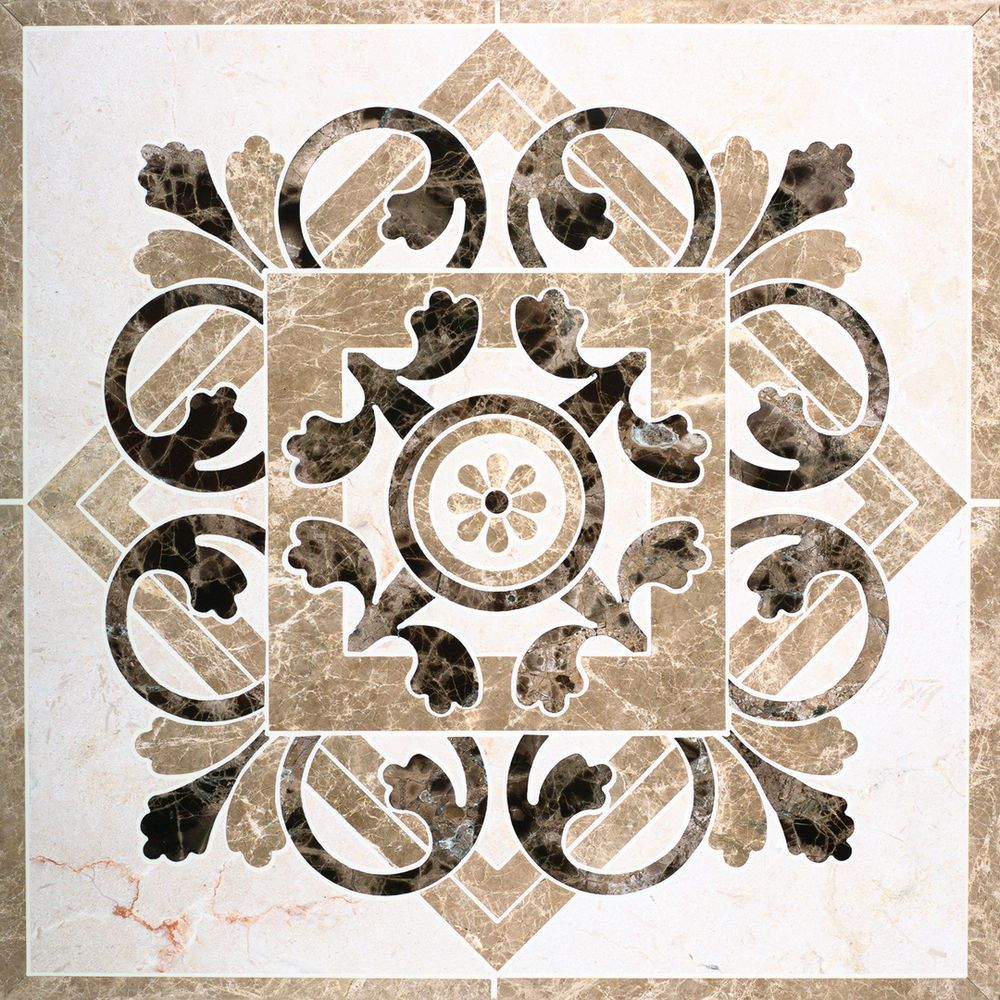 Marble waterjet medallion for tile floors love them in the foyer marble waterjet medallion for tile floors love them in the foyer or several together in dailygadgetfo Choice Image