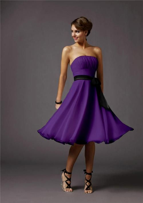 Big Sale NB1475 Prom Party Evening Bridesmaid Dresses | The purple ...