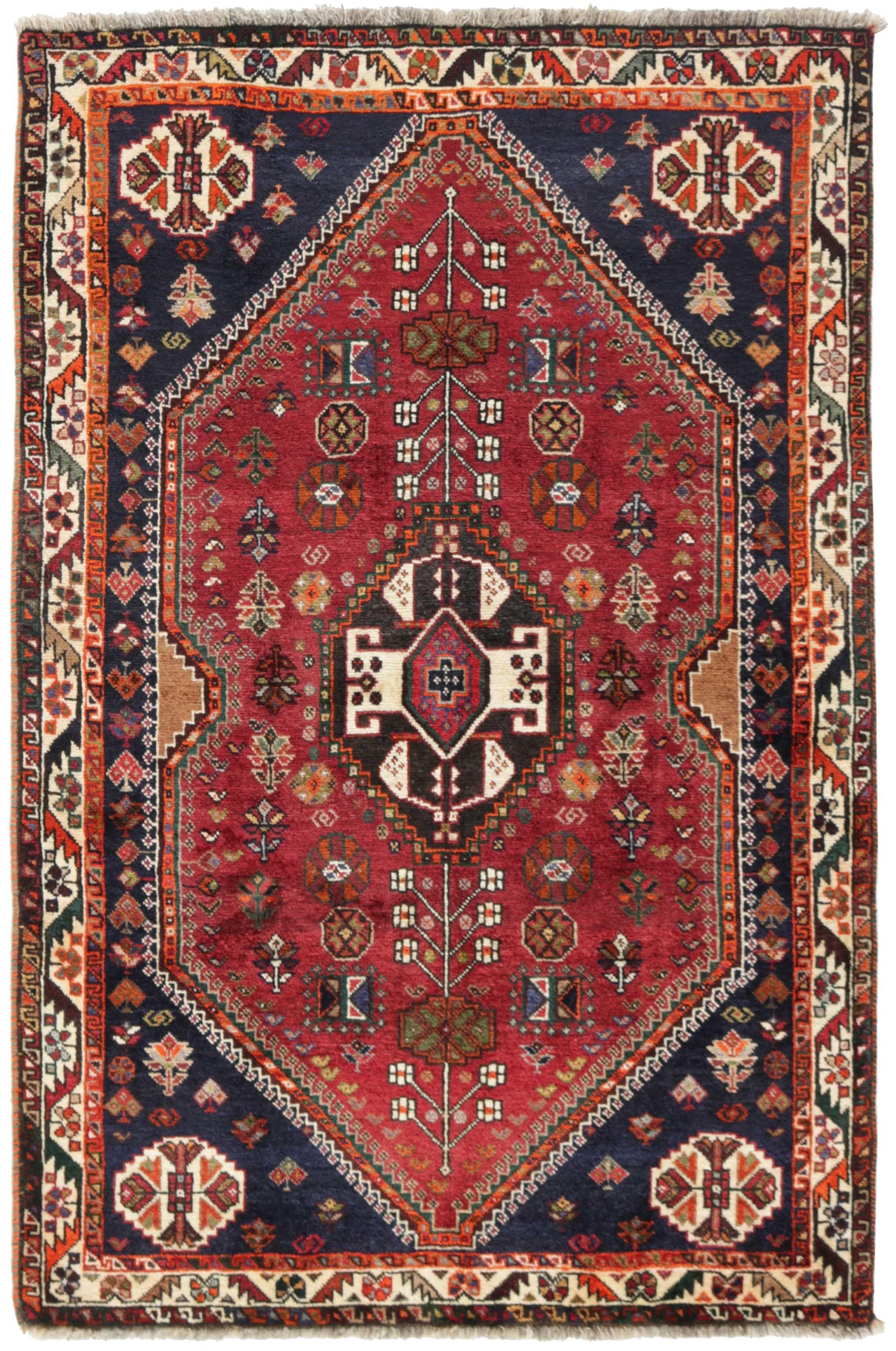 Kashghai Teppich 165x110 Oriental Carpets Carpet Handmade Rugs
