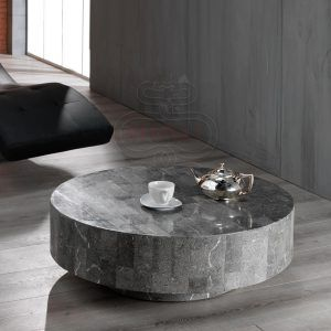 Contemporary Stone Top Coffee Tables
