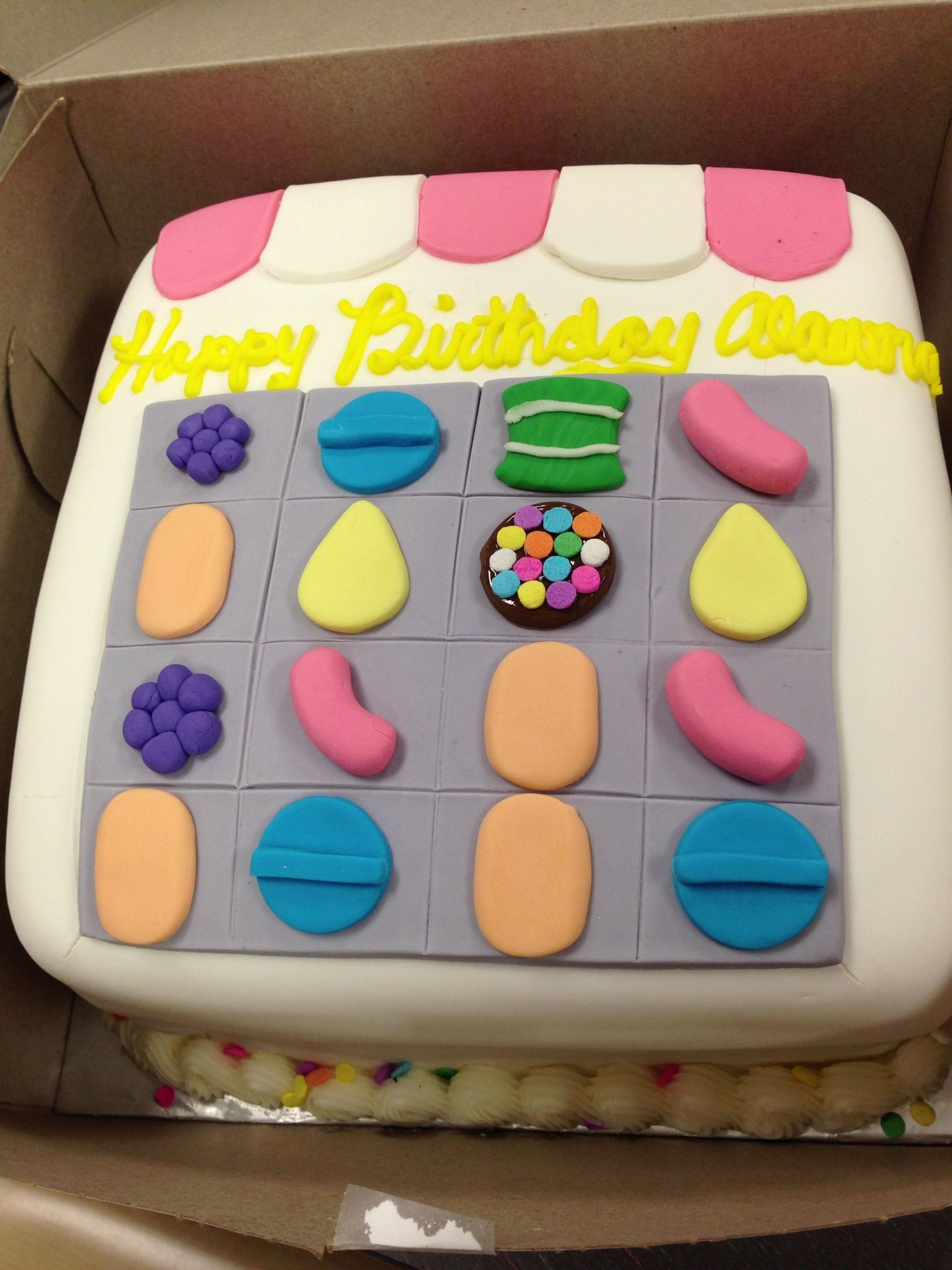 Candy Crush Cake Delicious ideas Pinterest Candy crush cakes
