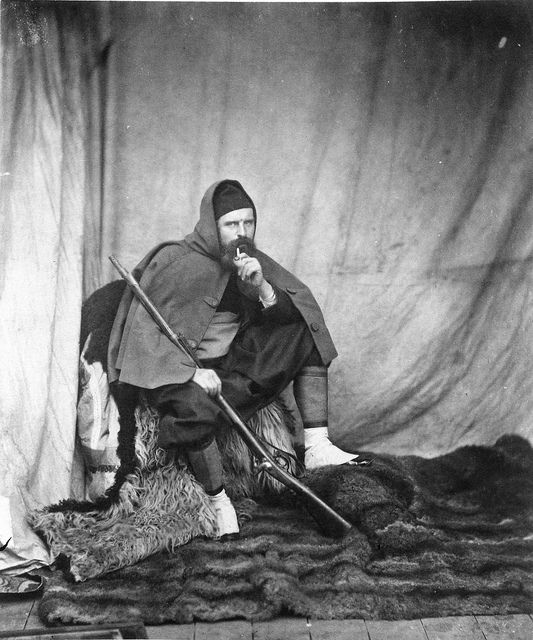 Roger Fenton - Self Portrait in Zouave Uniform, 1855 by The History of Photography Archive, via Flickr