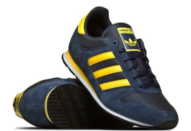 newest 82be8 46348 adidas Originals ZX 300 – Navy   Sunshine Yellow   White