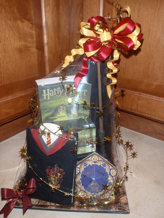 Finite incantatem harry potter gift basket orlandogiftbaskets harry potter gift basket orlandogiftbaskets negle Image collections