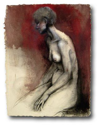Jim-Dine-Figure-Drawing-Reddish-Nude | Model | Pinterest | Jim ...