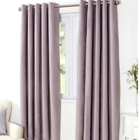 Mauve Aspen Thermal Eyelet Curtains Dunelm Plum Curtains