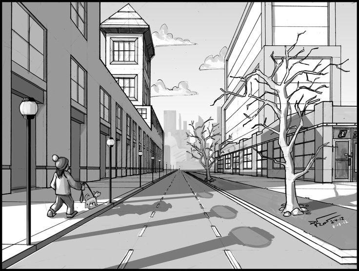 Immagine disegno prospettico arte prospettiva e punto for Disegnare progetti