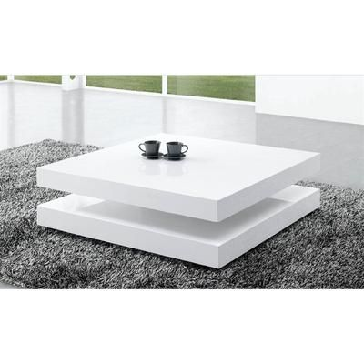 Table Basse Laquee Blanc Charlene Elegant Coffee Table Coffee Table Tea Table Design
