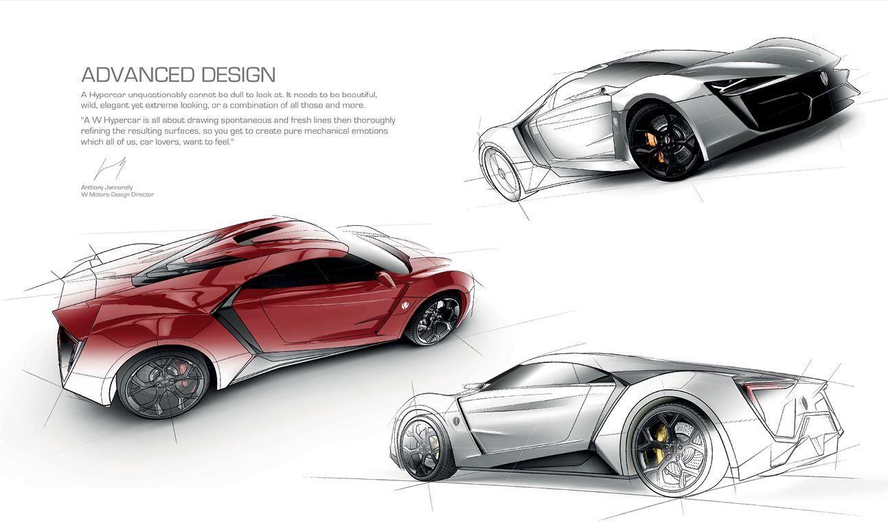 Lykan Hypersport Details Lykan Hypersport Toy Car Car Sketch
