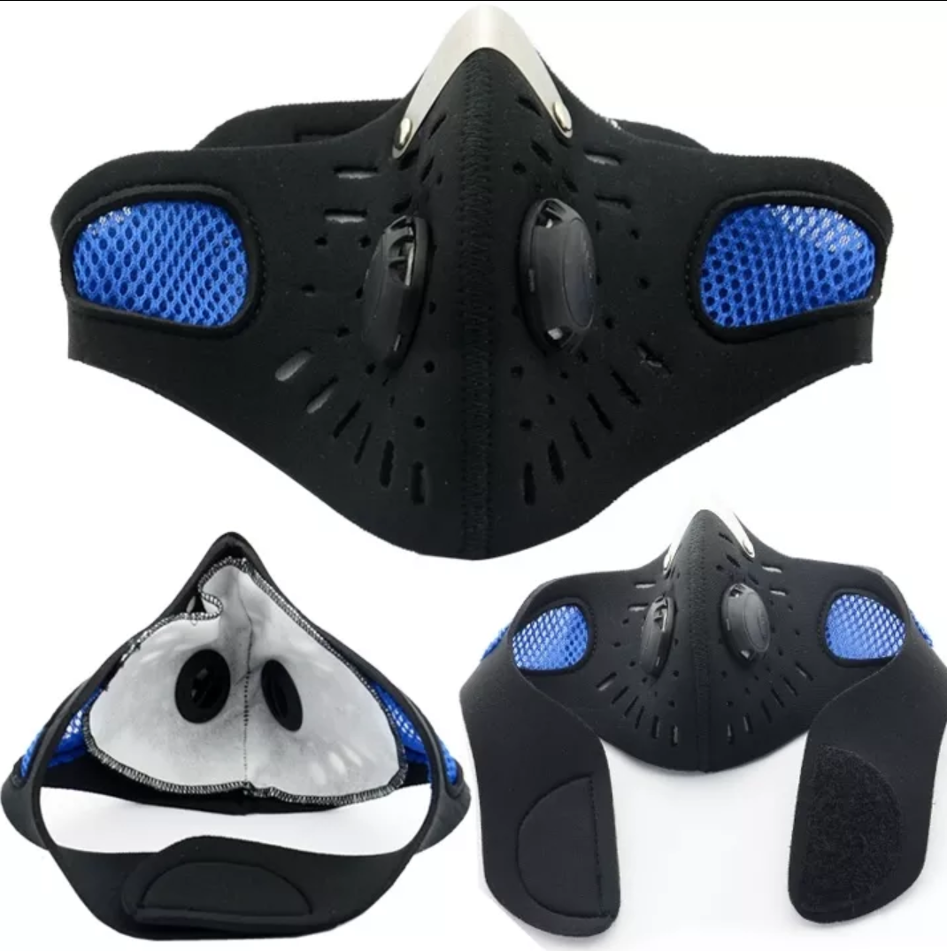 Elevation Mask Bike face mask, Face mask, Half face mask