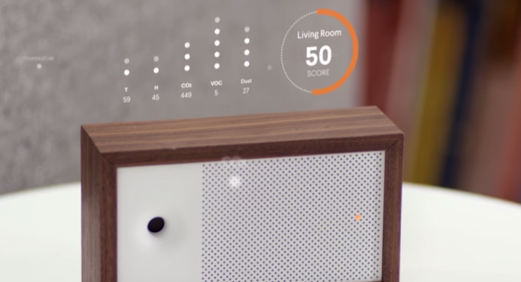 Awair air quality monitor teams up with Nest, Amazon Echo