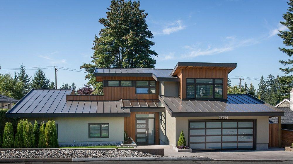 How Long Does A Roof Last When You Have To Change It Modern Exterior Garage Door Design Modern Garage Doors