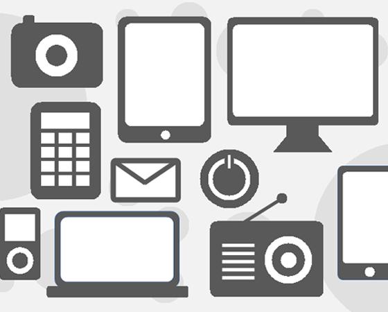 Technology Icon Set Elearning Technology Icon Learning Design
