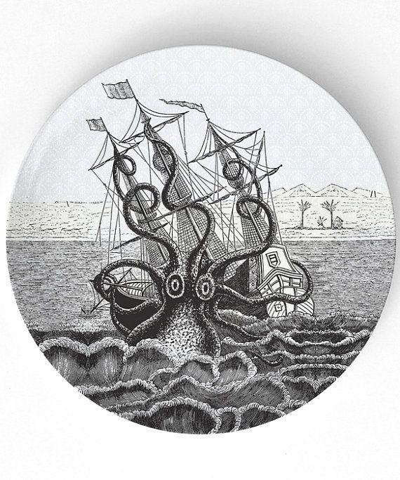Octopus shipwreck vint...