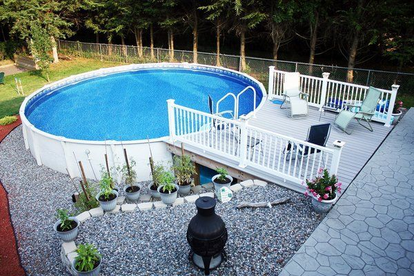 above ground pool materials pros cons #modernpoolaboveground