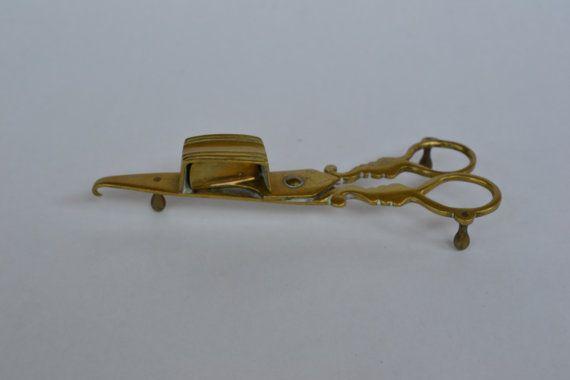 Apagador de vela de latón alrededor de principios del siglo XIX