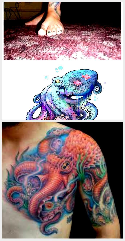 Photo of Gradient Octopus Tattoo – Google-Suche