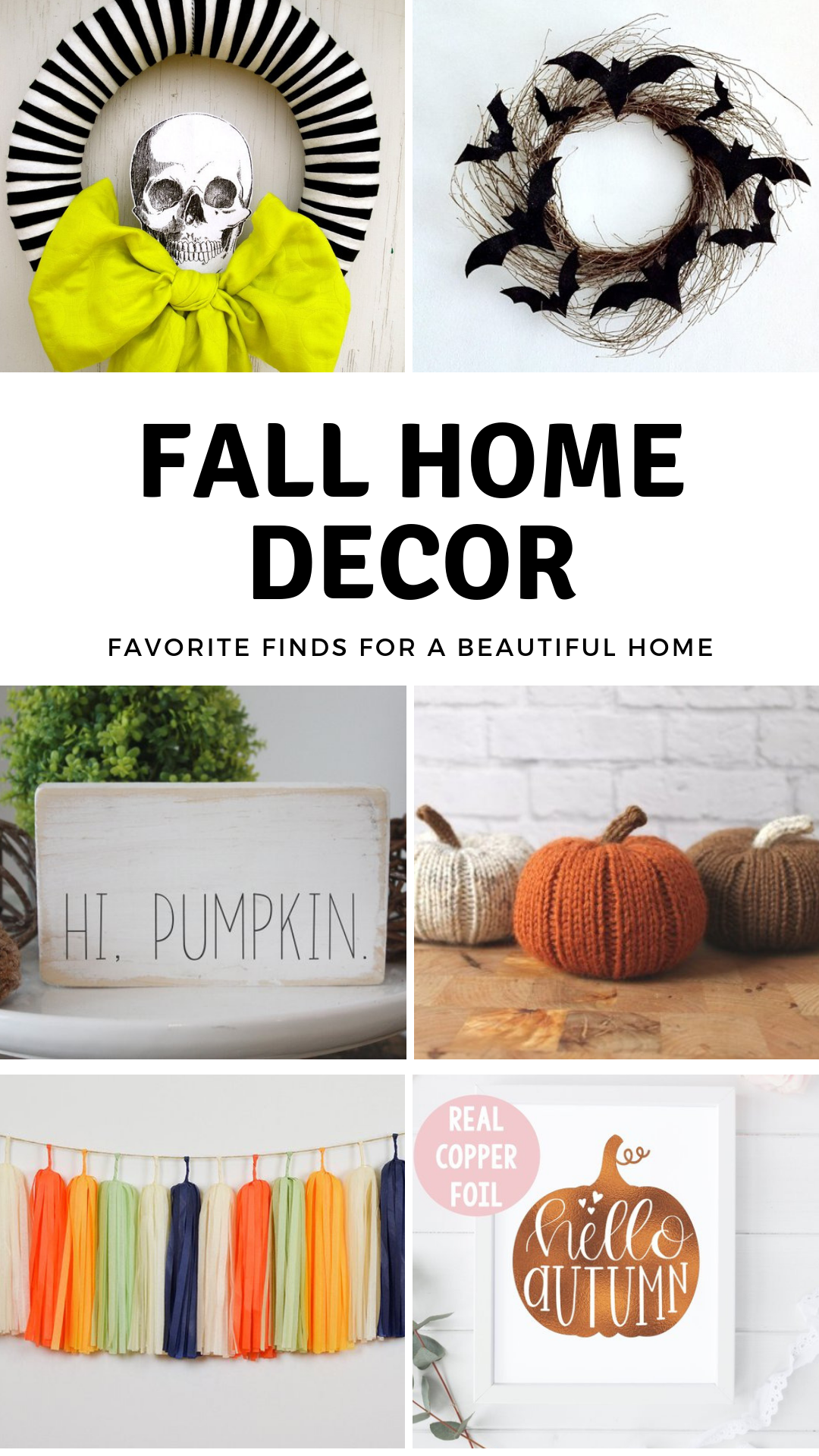 fall home decor on etsy brooklyn berry designs
