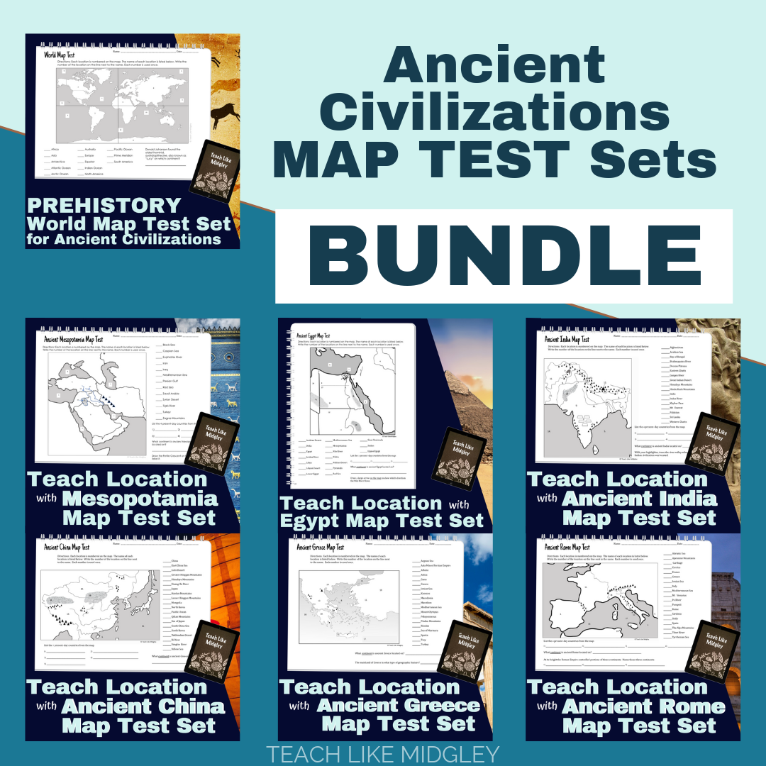 Teaching Location And Maps With Ancient Civilizations