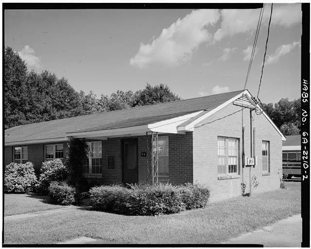 2 North Front And East Side Plains Public Housing No 9a Paschal Thomas Streets Plains Sumter County Ga Sumter Sumter County East Side