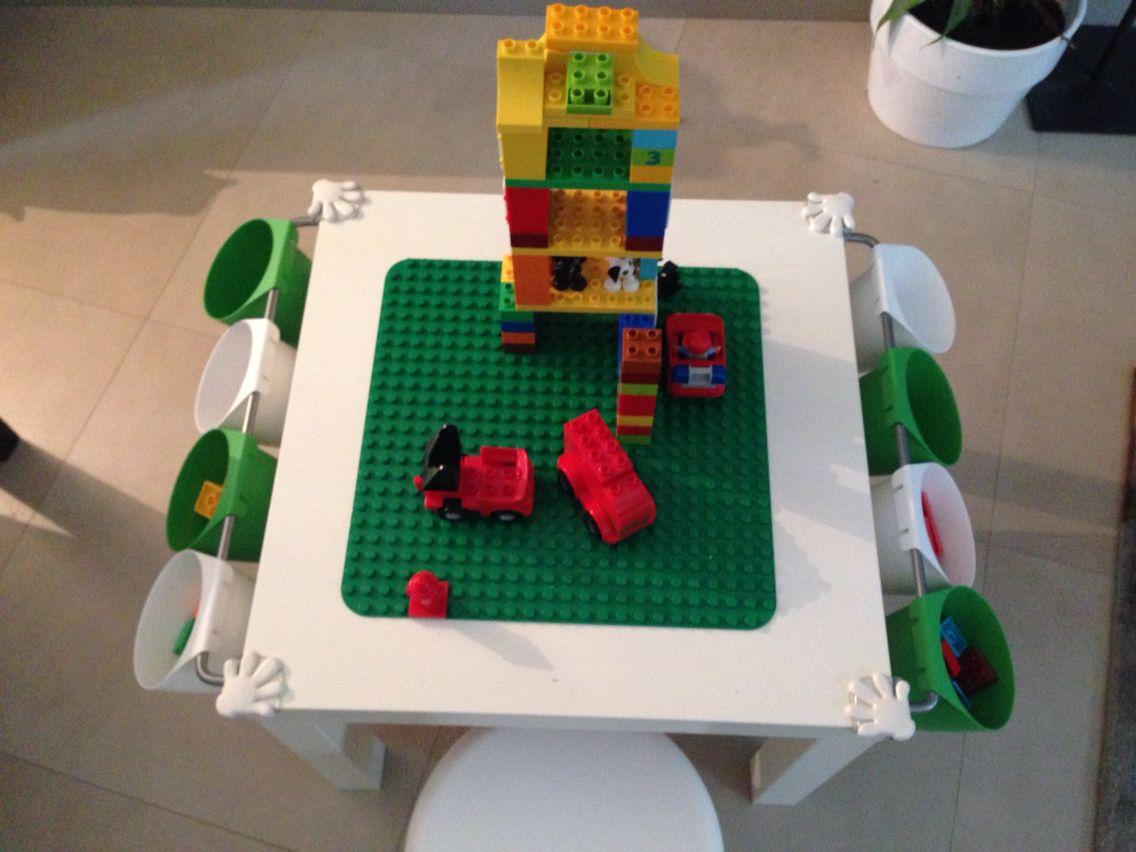 Table lego duplo Table, support et pot ikea | Innemiljö | Pinterest ...