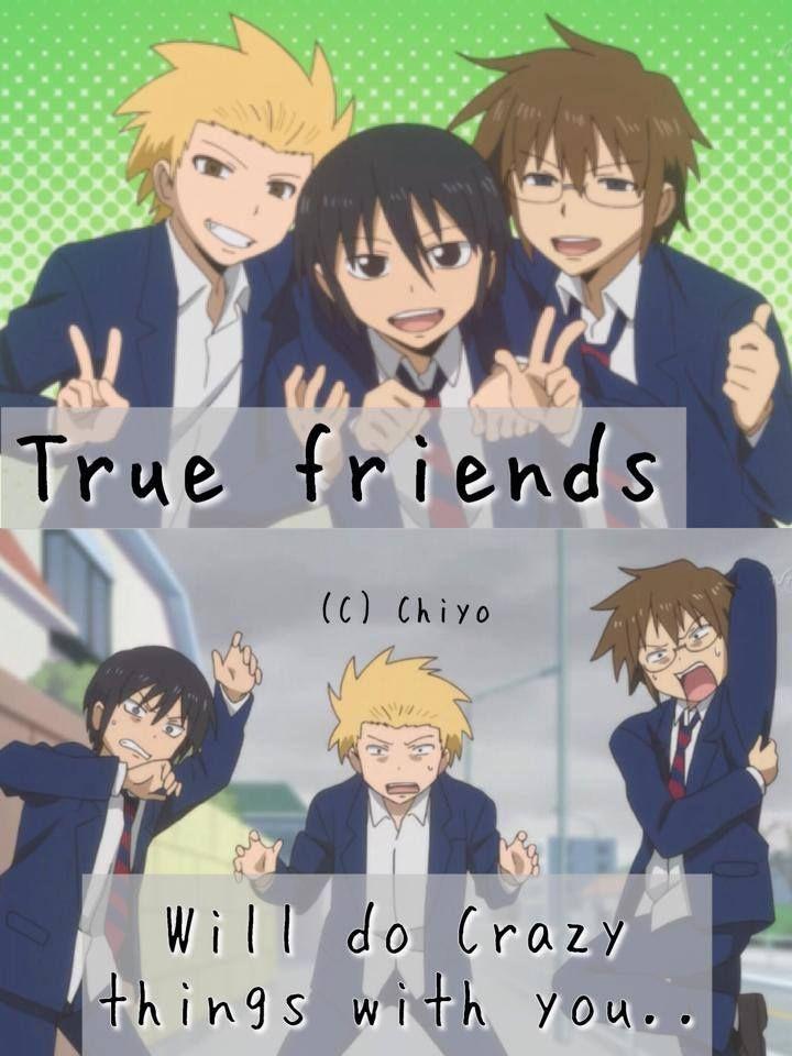 Daily Lives Of Highschool Boys Anime Quotes Anime People Manga