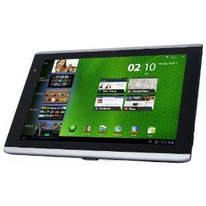 Acer Iconia Tab A500 Tablet 16 Gb 25 6 Cm 10 1 Zoll Touchscreen Wifi Android 3 2 Hdmi Usb 2 0 Tablet Acer Touch Screen