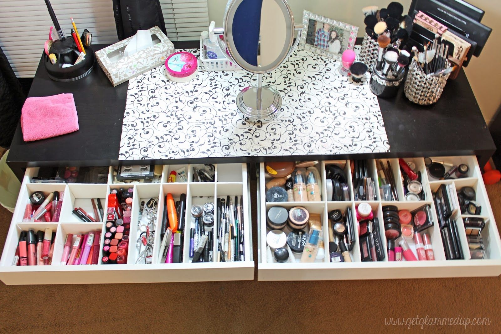 VIDEO Beauty Room Tour & Updated Makeup Collection http