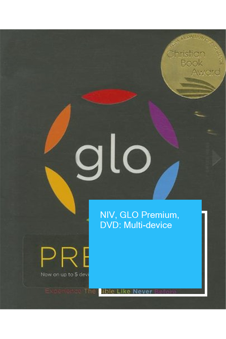 NIV, GLO Premium, DVD Multidevice Dvd, Personalized