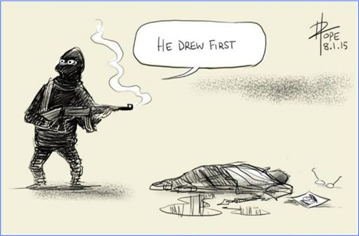 Je Suis Charlie Cartoons - David Pope