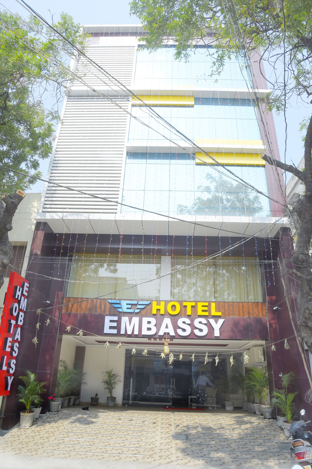 The Embassy Hotel Is Arranged In One Of The Most Begrudged Areas