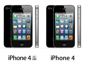 la diferencia entre un iphone 4 y 4s a