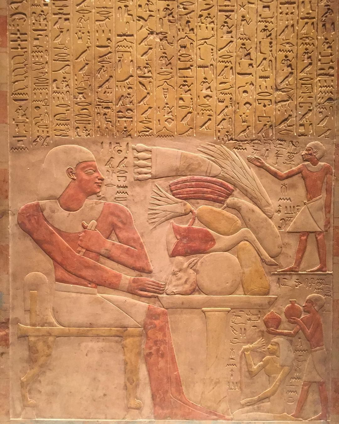 Stela of the Steward Mentuwoser, ca. 1944 B.C. Dynasty 12, reign of Senwosret I, year 17. #metmuseum #MiddleKingdomEgypt