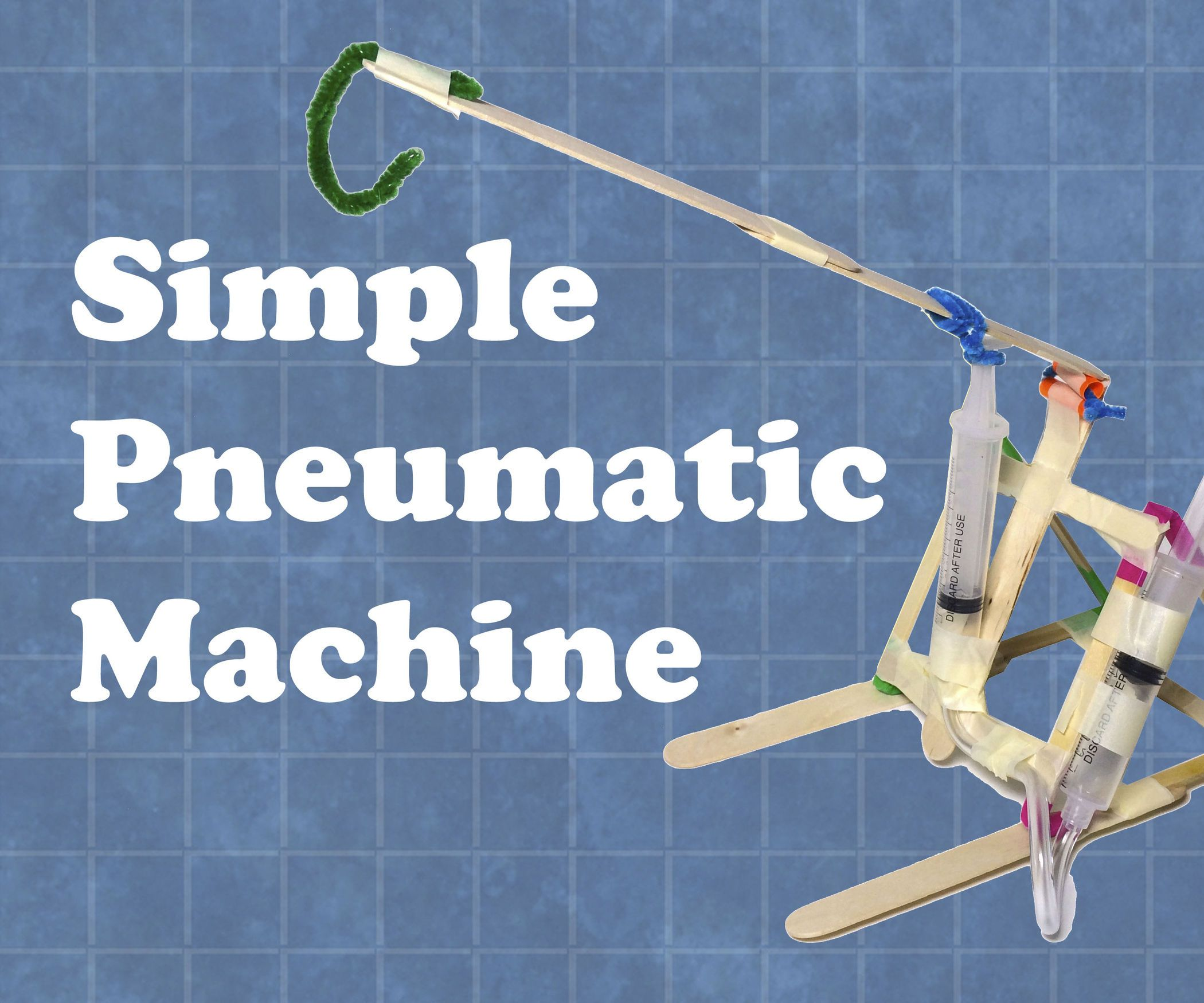 Simple Pneumatic Machine | Education | Pinterest | Engineering ...