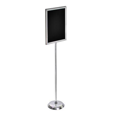 Azar 300286 14 inchW x 22 inchH Two-Sided Slide-in Frame Sign Holder ...