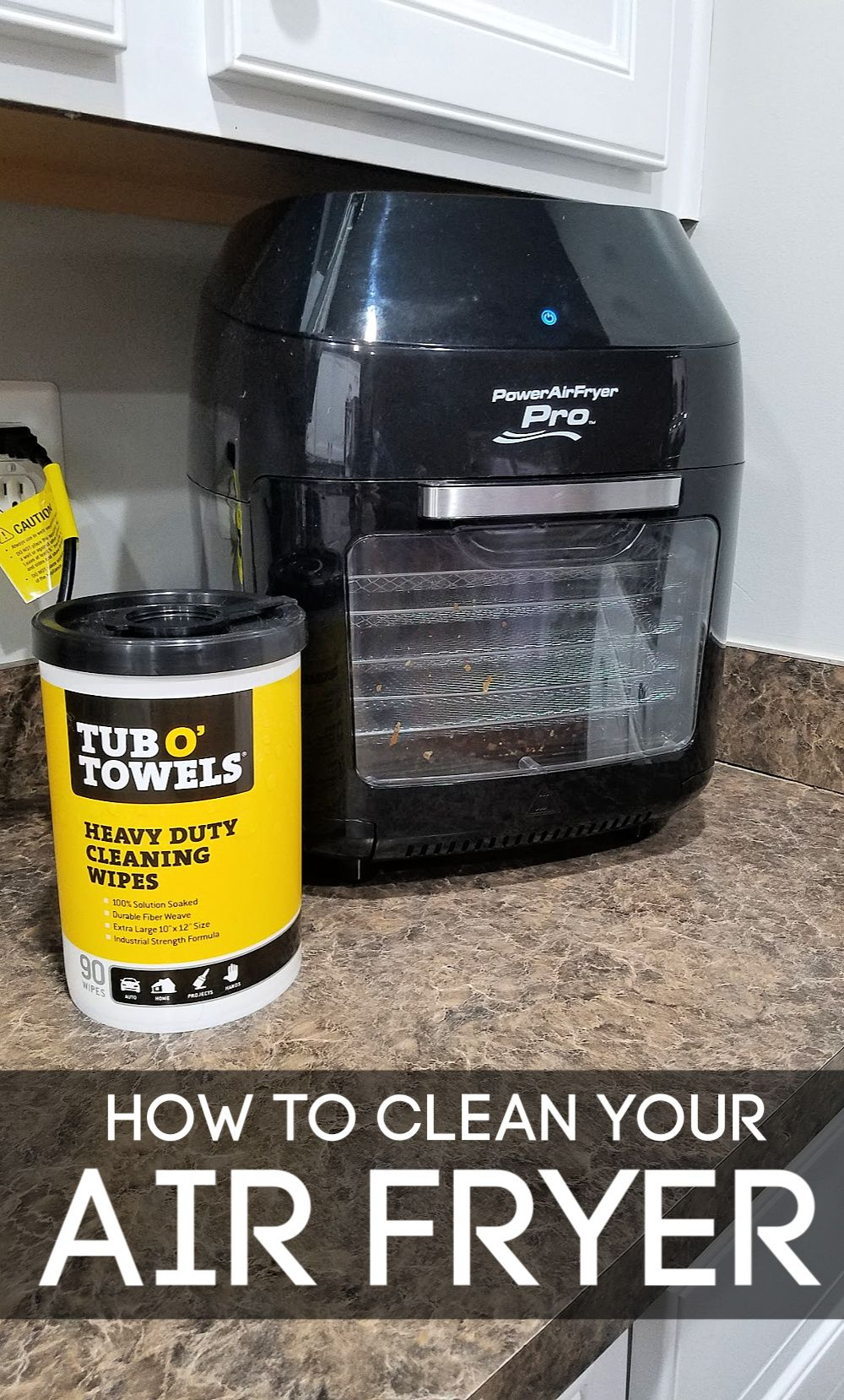 How to Clean Your Air Fryer - The Easy Way!  Air fryer, Air fryer