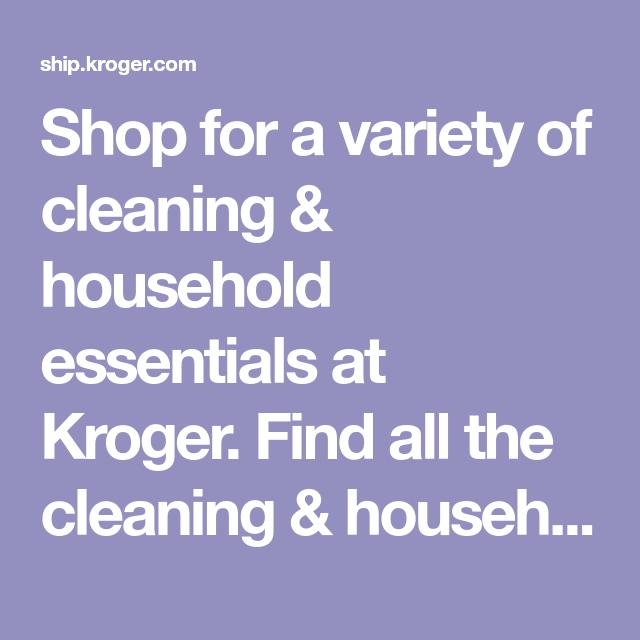 Kroger Carpet Cleaner