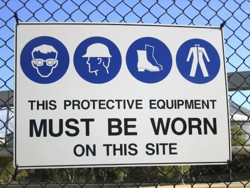Image result for safety on the construction site