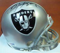 Bo Jackson Autographed Oakland Raiders Mini Helmet PSA/DNA #5A98786