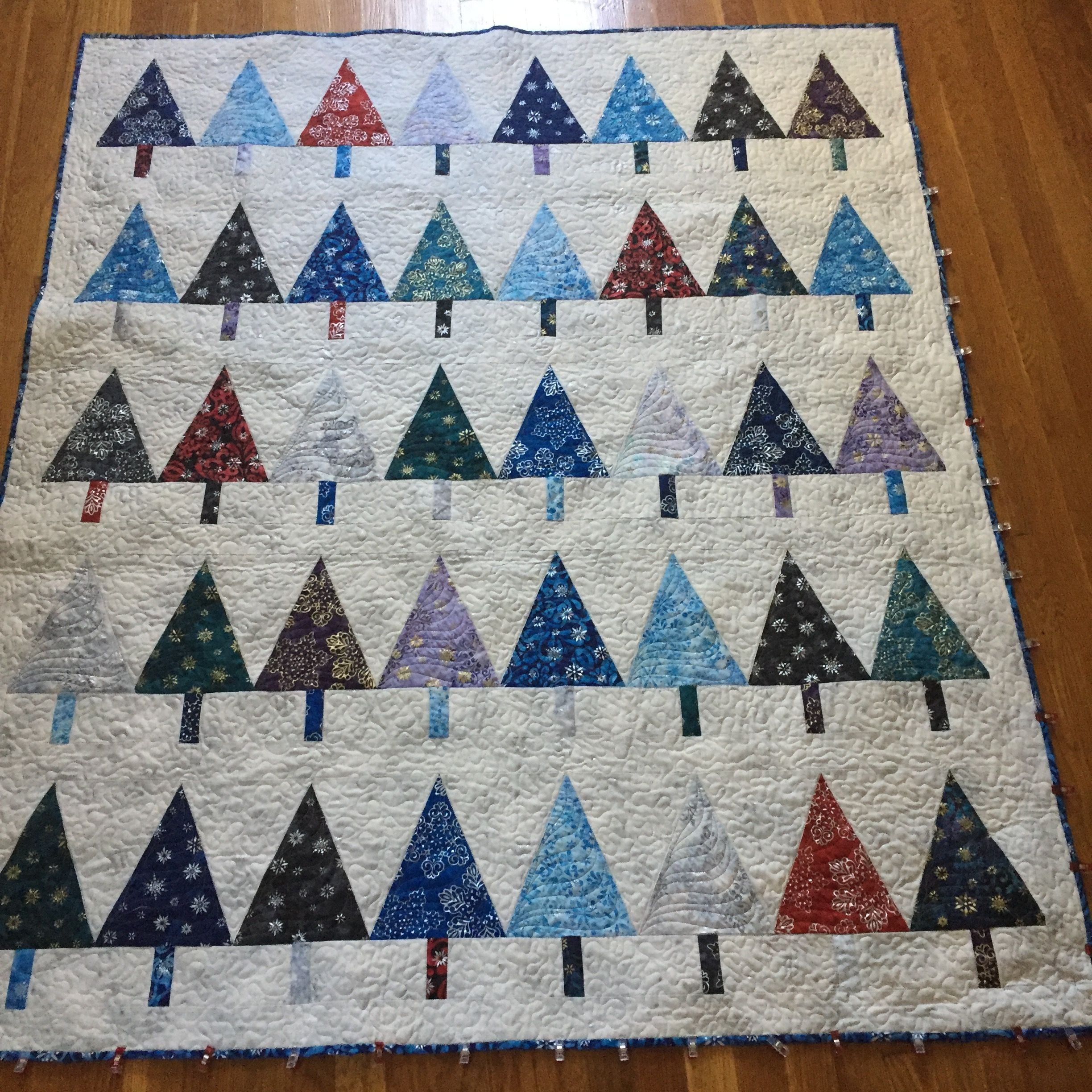 Christmas Tree Paper Piecing Patterns: Quilts I Have Made