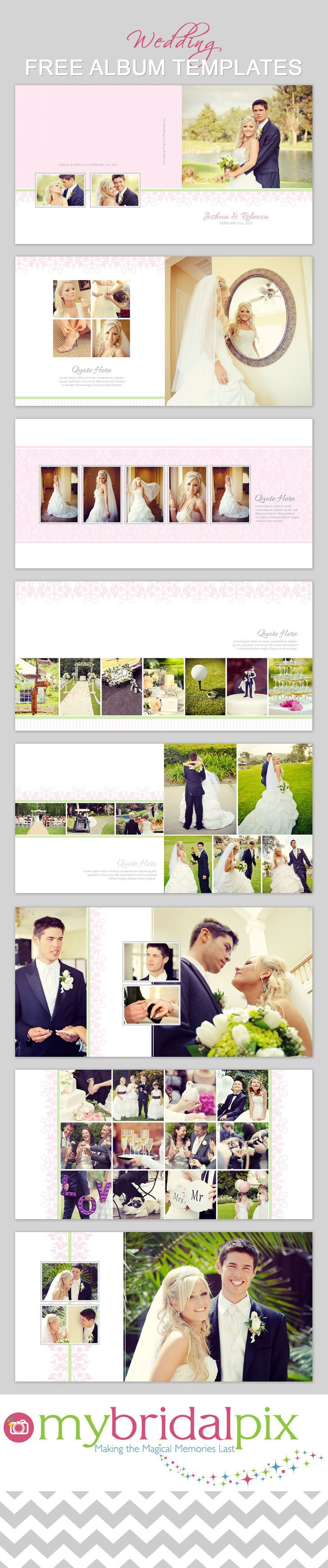 Find all your needs for a diy wedding album at bridalpix